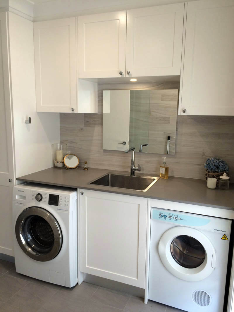 Laundry renovations sydney competitive prices huge range for Small laundry design