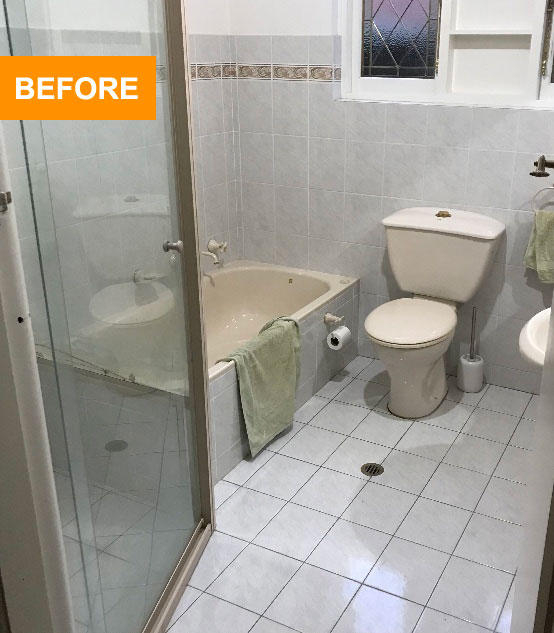 bathroom renovations south sydney