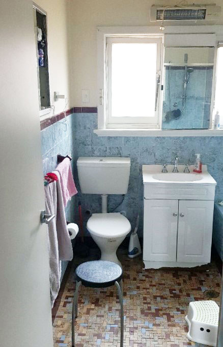 bathroom renovation st george before photo