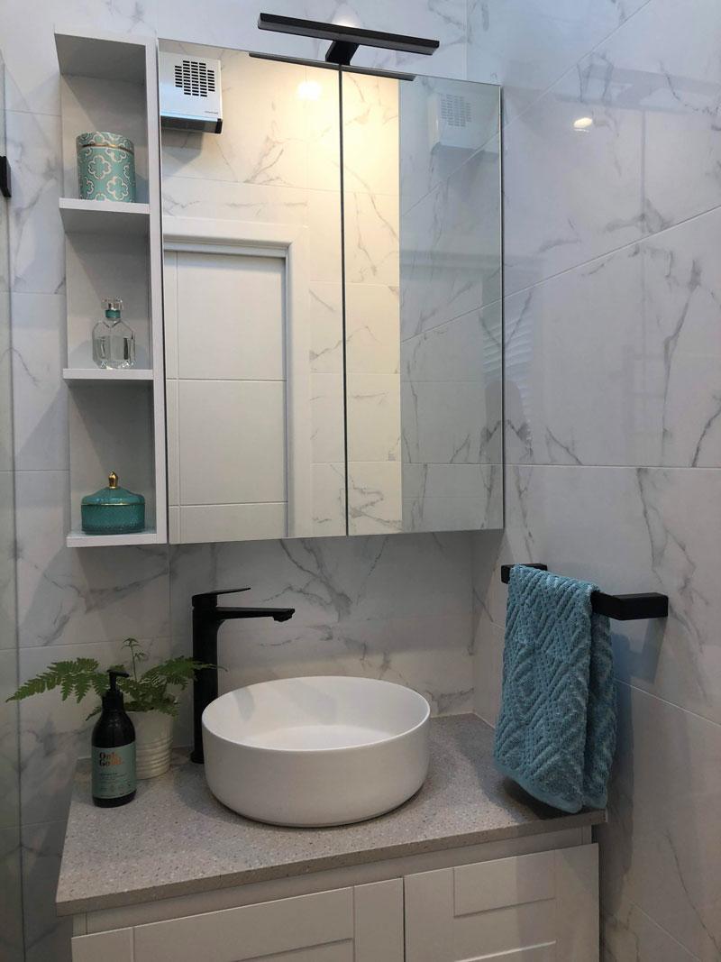 sydney ensuite bathroom renovation mortdale